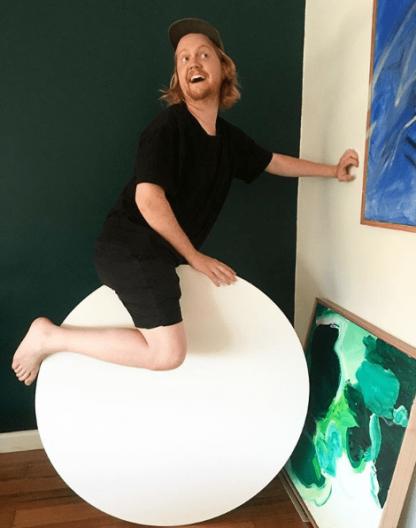 100cm round canvas