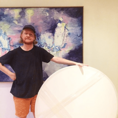 120cm Round Canvas